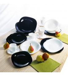 Сервиз за хранене Luminarc Carine Black & White 19 части