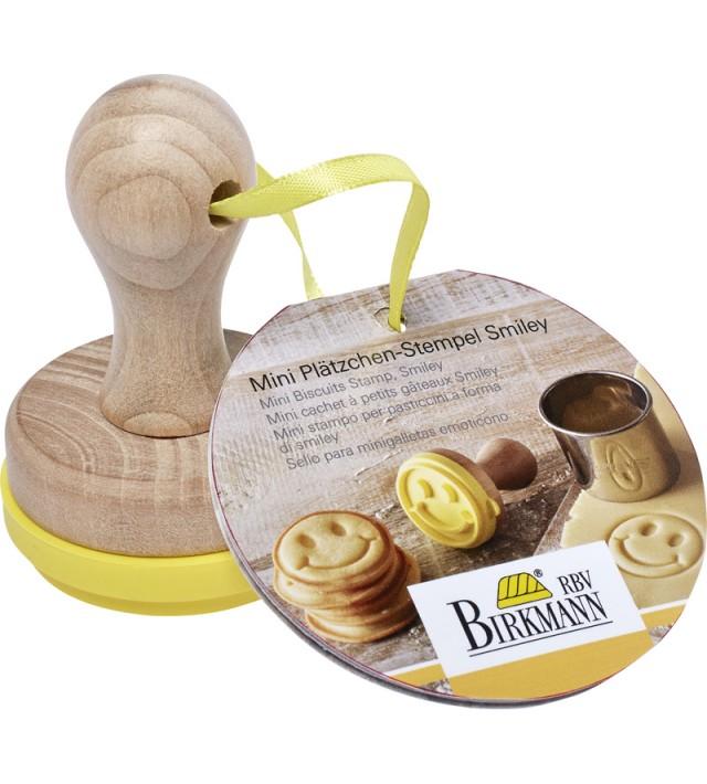 Печат за бисквити Birkmann Smiley 5 см