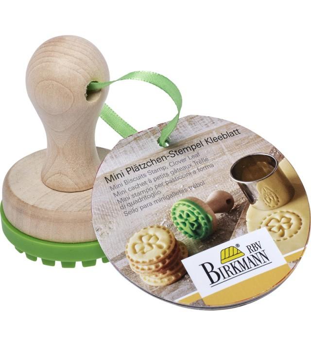 Печат за бисквити Birkmann Clover leaf 5 см