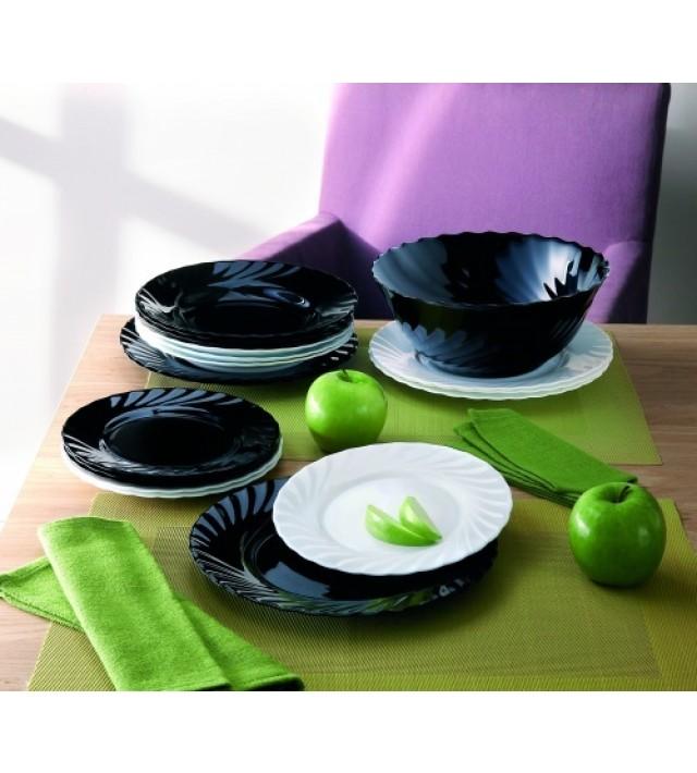 Сервиз за хранене Luminarc Trianon Black & White 19 части