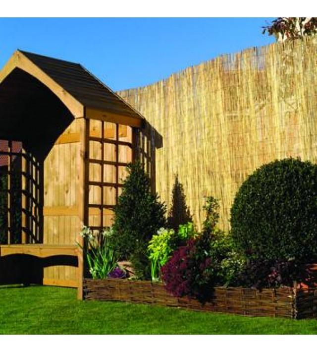 Декоративна преграда от тръстика Kingfisher Gardening 3 x 2 м