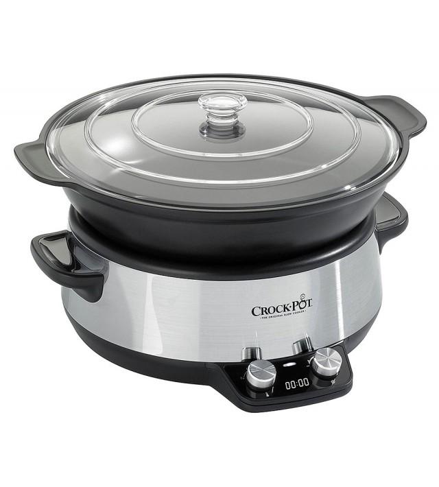 Уред за бавно готвене Crock-Pot Slow Cooker Digital Saute 6,0 л