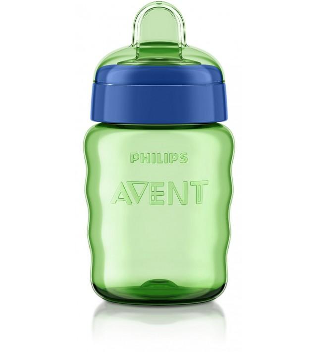 Чаша за лесен преход без дръжки Philips AVENT 260 мл, зелена